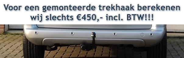 Trekhaak €450,-